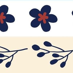 Maryam Stripes - Nautical