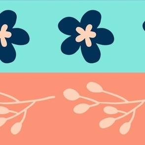 Maryam Stripes - Peach Berry
