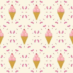 Retro Ice Cream I