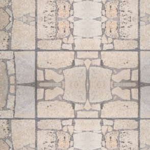 limestone rocks mosaic 2