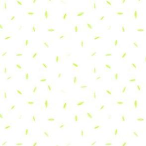 Funny Leaves Lemon Green