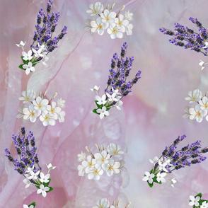 Tuberose and Lavender blooms