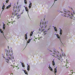 Tuberose , lavenders, rose petals flowers used in fragrant aromatherapy oils