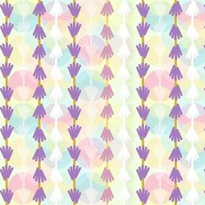 Lavender Bubble Stripe