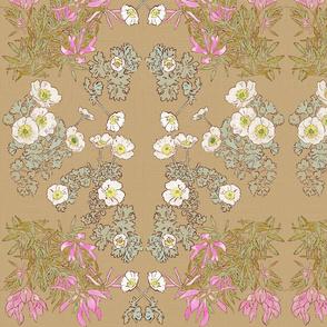 Ranunculus & Trifolium Alpinum