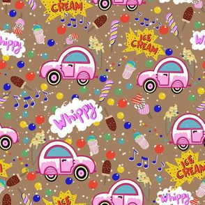 Ice Cream Truck creme brulee