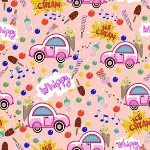 Ice Cream Truck light raspberry