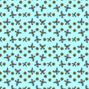 Small_Yellow_Daisies_Light_Blue
