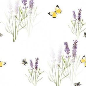 Vintage Lavender Garden