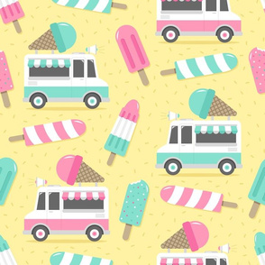 Ice Cream Truck Parade