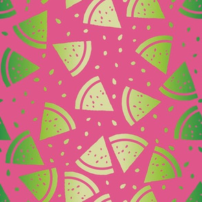 Bright watermelons