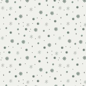 snow fabric - winter fabric - sfx5513