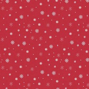 snow fabric - winter fabric - sfx1655