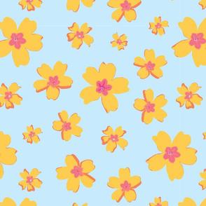 Portuguese Flowers - Tropical colors