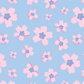 Portuguese Flowers - Pastel colors