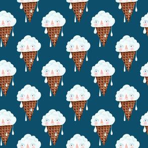 cloud ice cream pattern 1