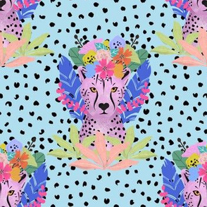 Stay Wild | Cheetah | Floral