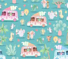 Jungle Ice Cream Truck