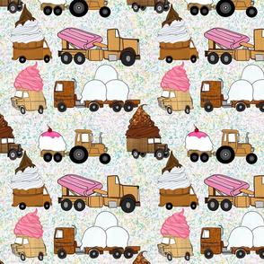 Icecream Delivery Trucks