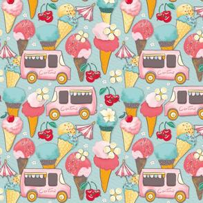 cortina ice cream truck