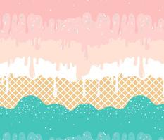 Pastel Rainbow Icecream