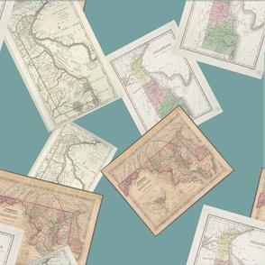 Maps of Delaware