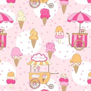 Ice cream large scale