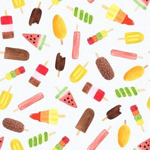 Ice Lolly Watercolour