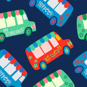 Flavour-Mobile Ice Cream Trucks - UnBlink Studio by Jackie Tahara - LARGE SCALE