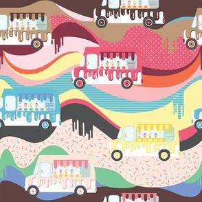 Sweet Vibes Ice cream truck