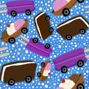 Ice Cream Trucks © Julee Wood