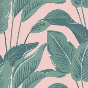 Kerala Palms // Warm Pink