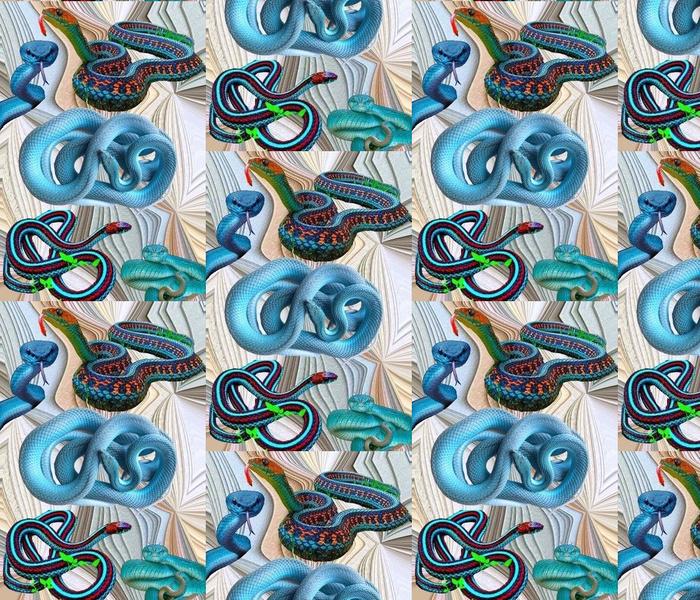 Beware of Blue Snakes