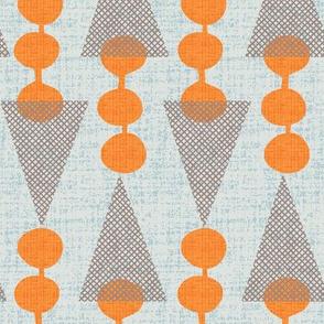 Deconstructed ice cream cone chevron