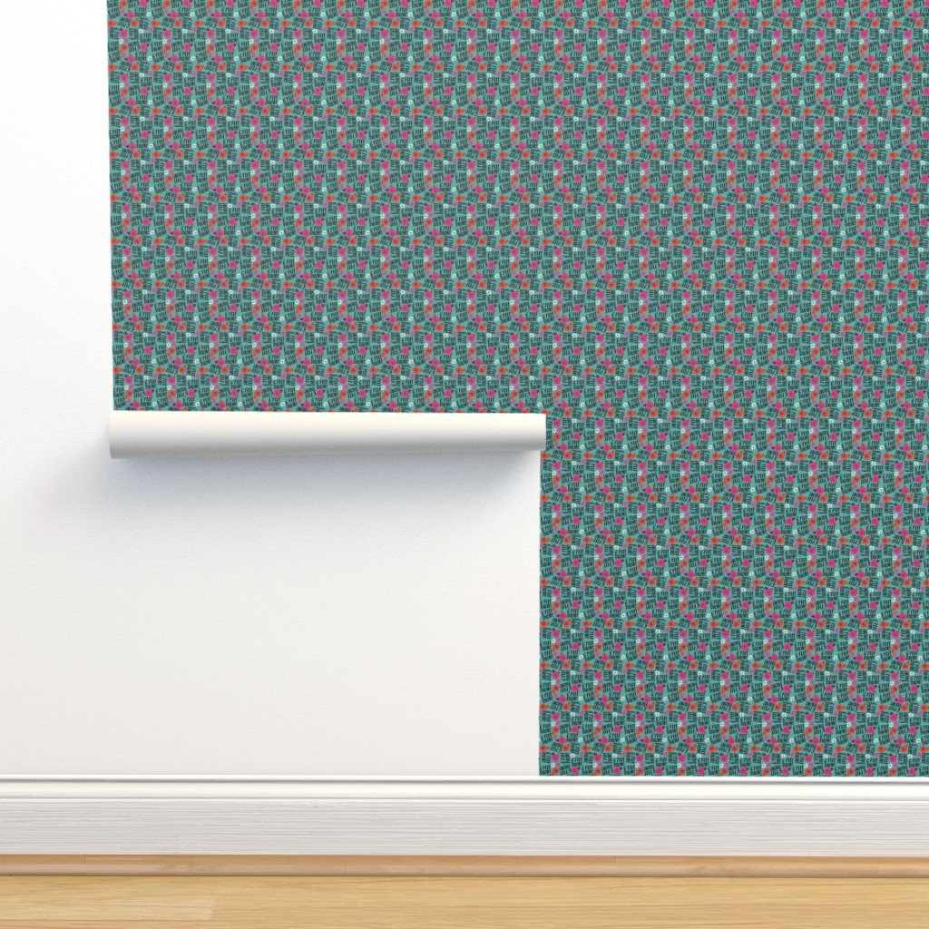 Isobar Durable Wallpaper featuring Teeny- 6 feet bitches by cynthiafrenette