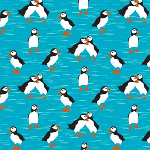 Puffins - Small scale