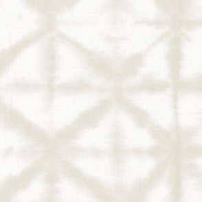 Soft tie dye boho texture summer shibori traditional Japanese neutral cotton print sand beige XL