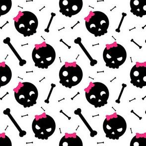 Girly skulls, skulls, skulls... and bones