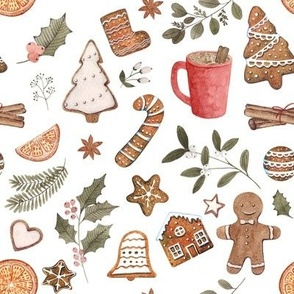 Gingerbread Party // White