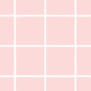 Large Watercolor Windowpane M+M Icing by Friztin