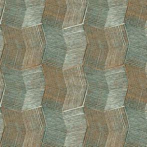 Manta Weave - seaside - half scale