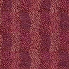 Manta Weave - berry - halfscale