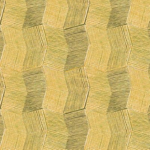 Manta Weave - maize - half scale