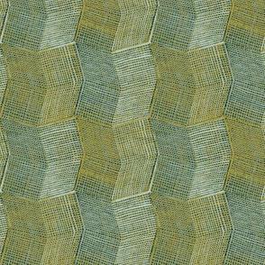Manta Weave - aqua - half scale