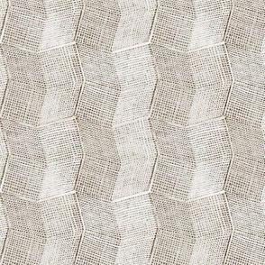 Manta Weave - bone - half scale