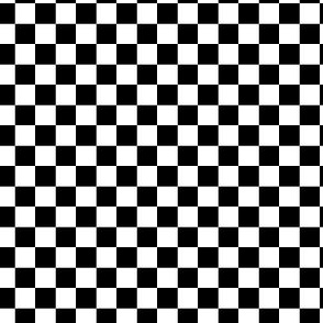 Black and White Checkered Squares Small