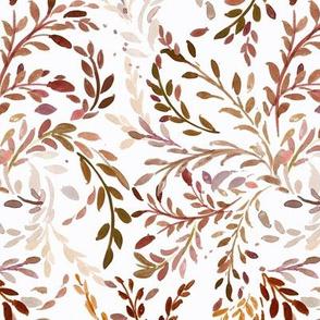 Willow Vines autumn shades