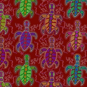 Tropical Tortugas - Large Scale
