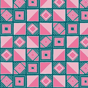 """Unearthed (12"""") - pink/blue"""