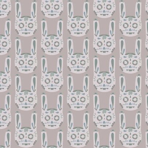 Bunny Sugar Skull - Lilac